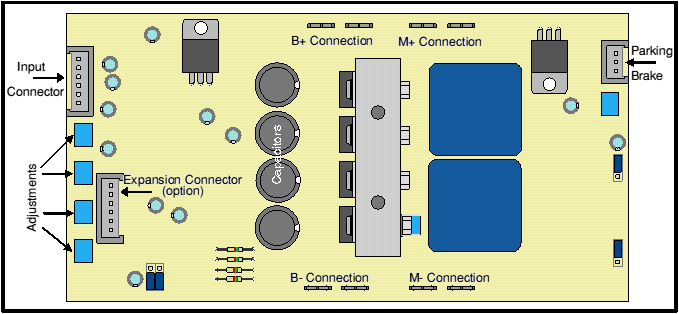 VTX Speed controller - board view