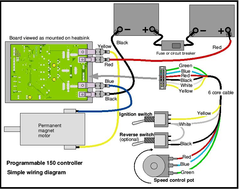 pro-150 basic wiring