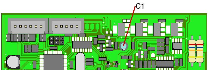 capacitor modification