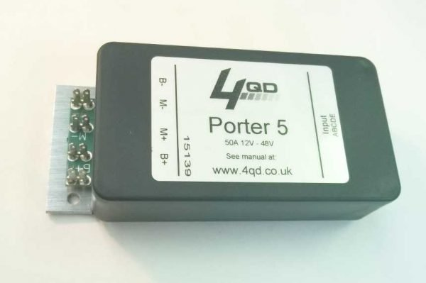 Porter 5 power end