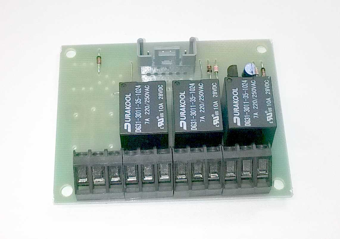 Horn Relay Board 4QD Electric Motor Control