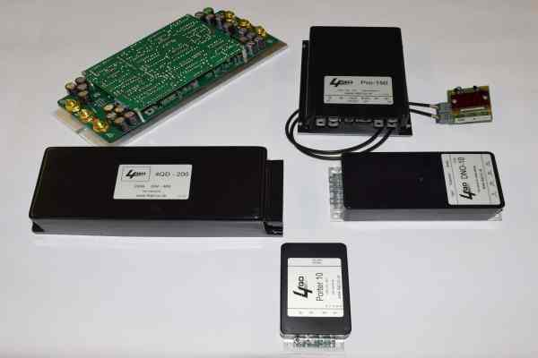 Range of 4QD motor speed controllers