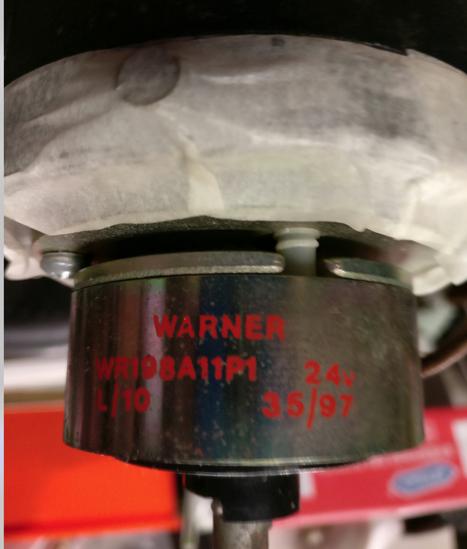 parking brake voltage
