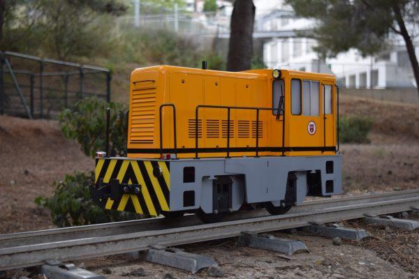 locomotive speed control