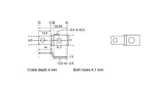 9-5 tag dimensions