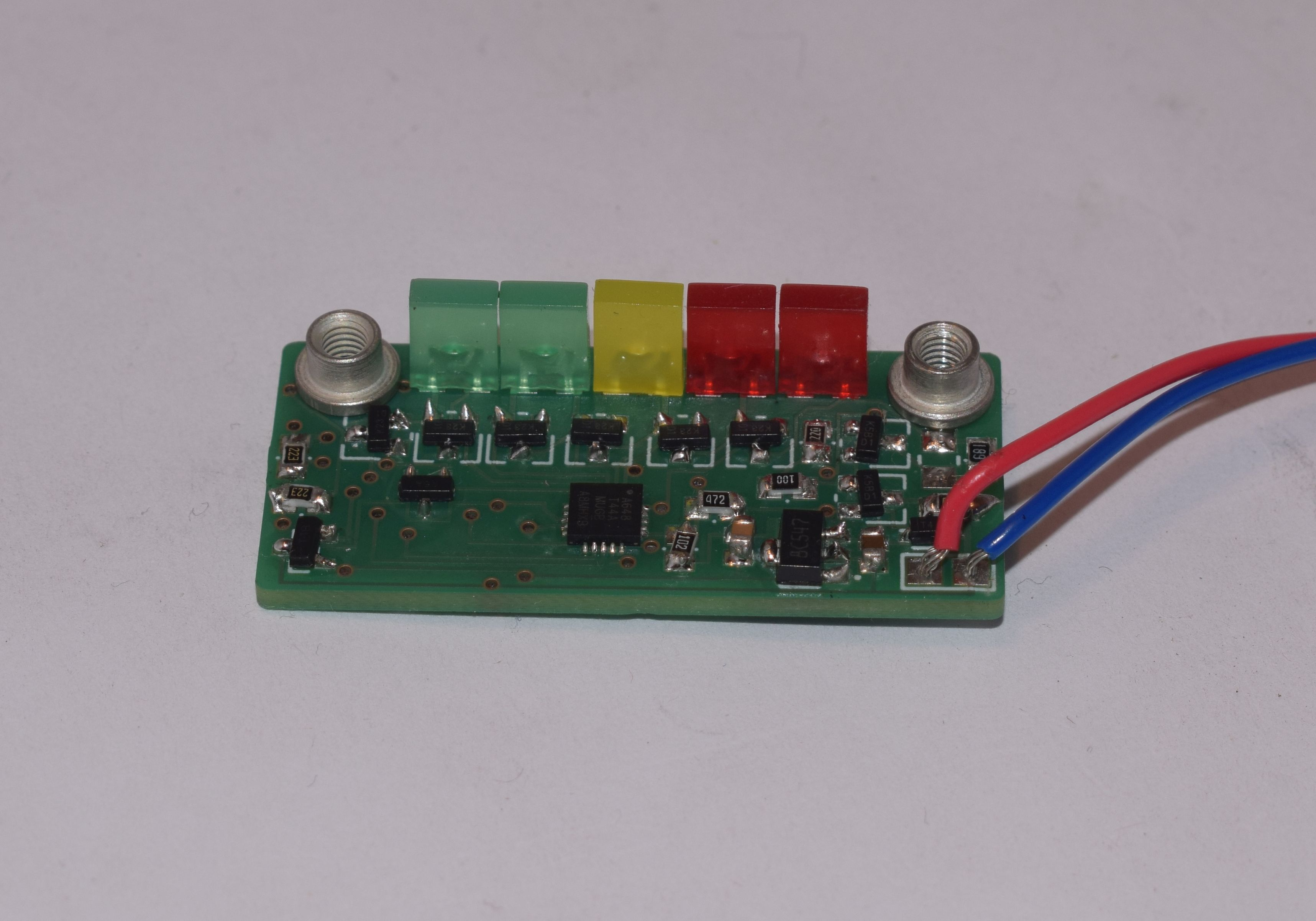 programmable battery meter