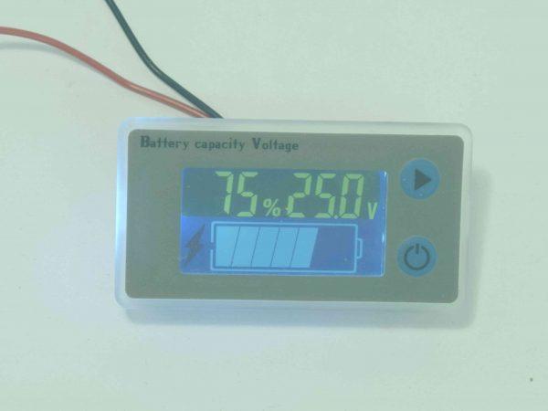 LCD battery meter