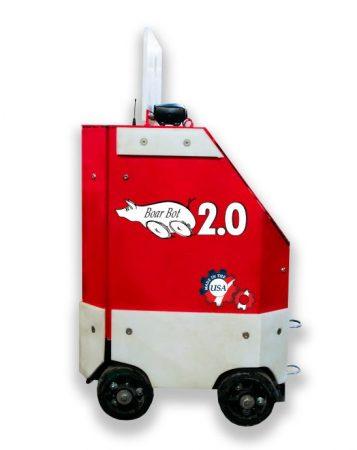 Pig handling robot