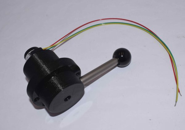 hall effect throttle lever