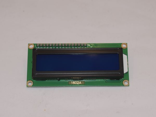 The LCD display used on the PRO-160 and PRO-360