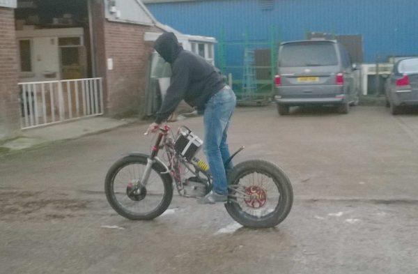 electric trials bike