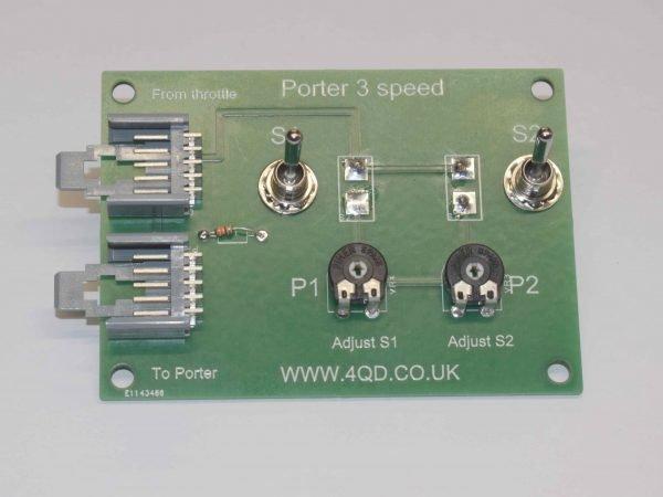 Porter 3 speed
