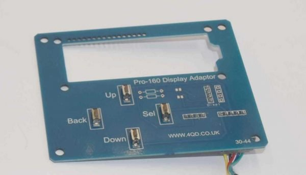 Pro-160 display adaptor board