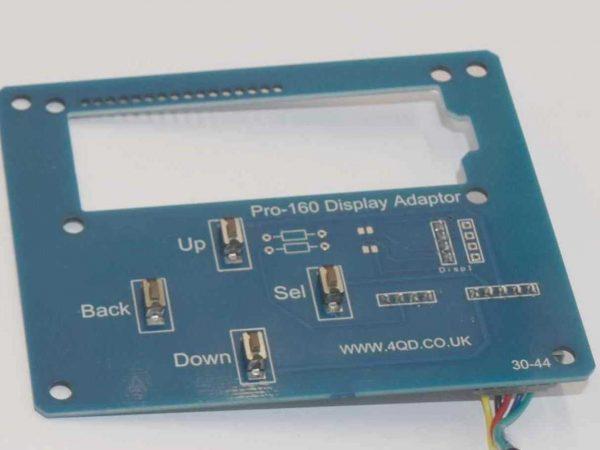 Pro-160 display adaptor board