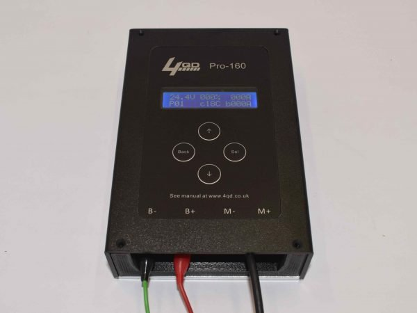Pro-160 PWM programmable motor speed controller