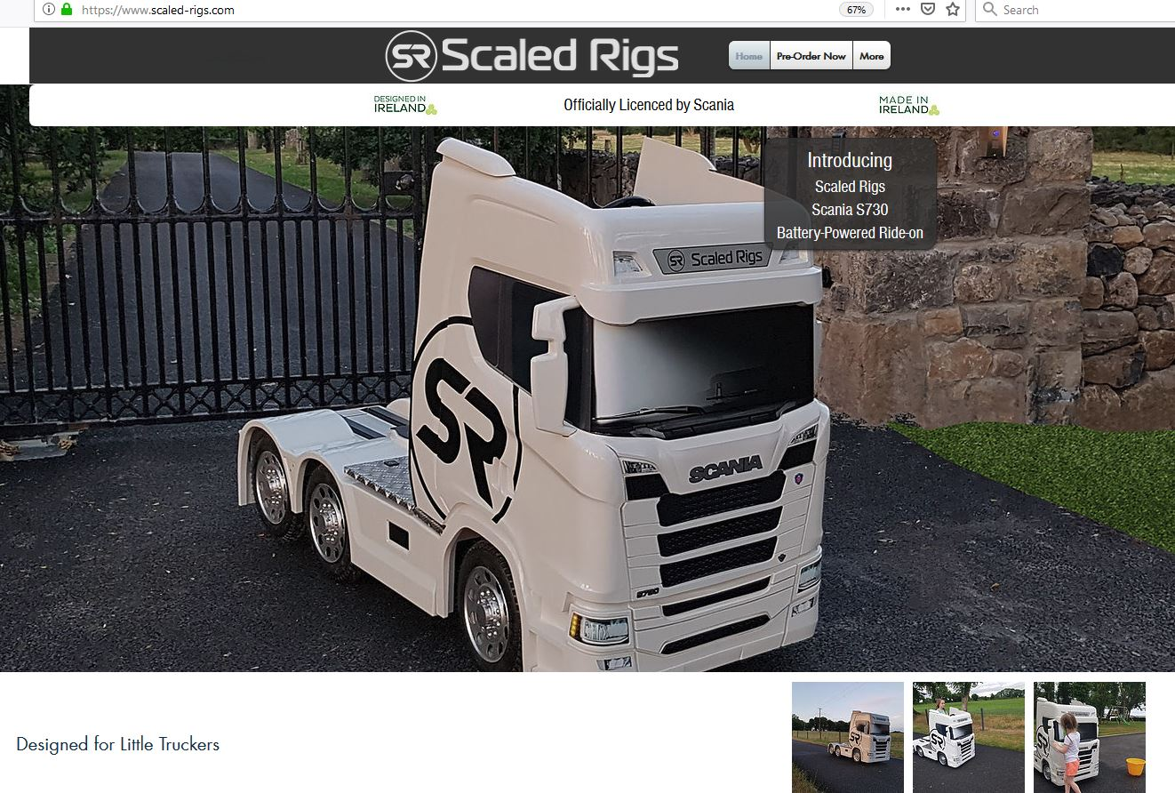 scaled rigs