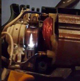 motor sparks