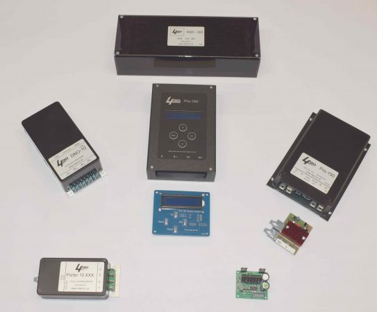 PWM motor speed controllers
